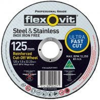 Wheel Cut-Off Mega Inox Ultra Thin A46T-BF41 Flexovit