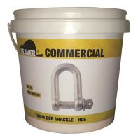 Beaver D Shackle Galvanised