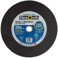 Flexovit Metal Cut Off Disc 356x3.8x25.4mm
