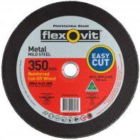 Flexovit Mild Steel High Speed Cut-Off Wheel 350 x 4.4 x 25.4mm