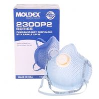 Moldex Respirator P2 Particulate Moldex 2300N Series with Valve Med/Lge
