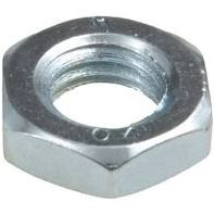 Nut Hex Lock (1/2 Nut) Lo-Tensile ZP