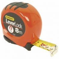 Tape Measure Stanley Hi Vis Leverlock Magnetic Metric 28 mm x 8 m