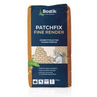 Bostik Patchfix Fine Render Grey 20kg Bag (Was 292729)