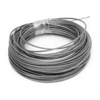 Wire Rope Stainless Steel G316/A4 - 3.2mm x 1mm x 19mm