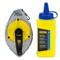 Stanley FatMax Pro Chalk Line Reel with Blue Chalk 30m/100ft