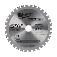 Milwaukee 149mm Ferrous Metal Saw Blade