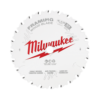 "Milwaukee Circular Saw Blade 6-1/2"" 165mm 24T FRAMING"