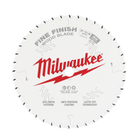 "Milwaukee Circular Saw Blade 7-1/4"" 184mm 40T FINE FINISH"