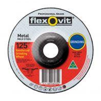 Flexovit Mild Steel Grinding Wheel 125 x 6.8 x 22.2mm