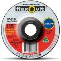 Flexovit Mild Steel Grinding Wheel 115 x 6.0 x 22.2mm