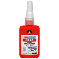 Rapidstick 8243 Threadlocker (Oil Tolerant, Blue) - 50ml Bottle