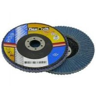 Flap Disc Metal Mega-Line Blue Zirconia Flexovit