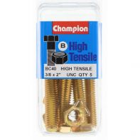 Champion .3/8x2nc Screw/N Bl/Box