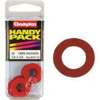 Champion Fibre Washers 1/32x3/8x3/4 (Pack 20)