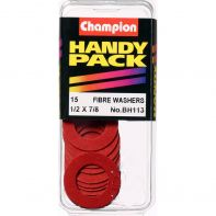 Champion Fibre Washers 1/32x1/2x7/8 (Pack 15)