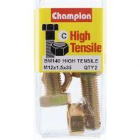 Champion .M12x1.5x35 Screw/N Bl/Box