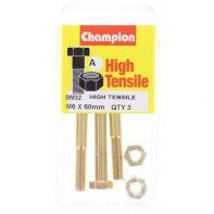 Champion .M6x60 B/N Blist/Box