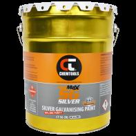 GalMax SG Silver 3-in-1 Galvanising Paint - 20L Paint Tin