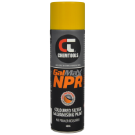 GalMax NPR Safety Yellow Galvanising Paint - 400g Aerosol