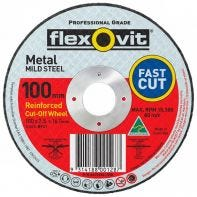 Flexovit Mild Steel Cut-Off Wheel 100 x 2.5 x 16mm