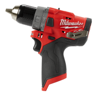 Milwaukee M12FPD-0 12V Cordless FUEL Hammer Drill/Driver