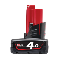 Milwaukee M12 Red Lithium 4.0AH Battery