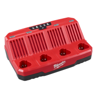 Milwaukee M12 4 Bay Sequential Charger