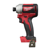 """Milwaukee M18 Brushless 1/4"""" Hex Impact Driver- Tool Only"""