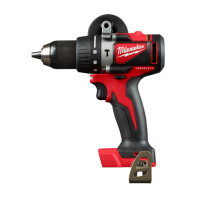 Milwaukee M18 Brushless 13mm Hammer Drill Driver-Tool only