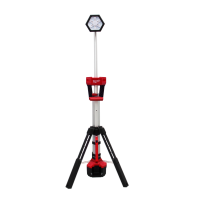 Milwaukee M18 Dual Power Stand Light (2000 lumens) - Tool Only