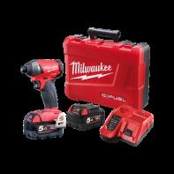"Milwaukee M18 Fuel Impact Driver 1/4"" Hex 5.0Ah Kit"