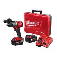 Milwaukee M18FPD2-502C 18V Cordless GEN 3 fuel Hammer Drill Driver 5.0Ah Kit
