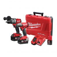 Milwaukee M18FPP2C2-502C FUEL 2 Piece Cordless Kit