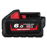 Milwaukee M18 RED Lithium High Output 6.0Ah Battery