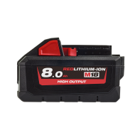 Milwaukee M18 RED Lithium High Output 8.0Ah Battery