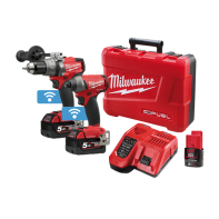 Milwaukee M18 Fuel One-Key Hammer Drill Imp Driver 5.0AH kit (contains Hex Impact Driver, Hammer Drill/Driver, 2 x 5.0Ah Red Lithium Batteries, Slide Handle, 2 x Belt Clips, 2 x Bit Holder, M12-18 Dual Volt Charger & Carry Case)