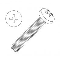 M6 Machine Screw Pan Head Phillips Stainless Steel G316/A4