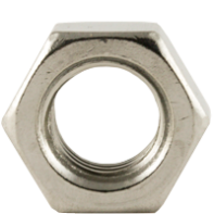Nut Hex (STD) BS 1083 Stainless Steel Gr 316/A4