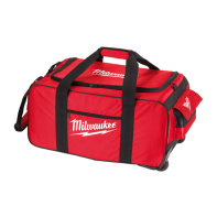 Milwaukee Contractor Bag with Wheels Xlarge