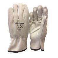 Glove Beaver Frontier Cowhide Rigger Beige - XL