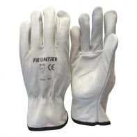 Beaver Frontier Rigger Glove Cow grain White Large