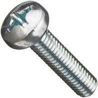 Machine Screw Pan Head Phillips DIN 7985 Stainless Steel Gr 316/A4