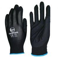 Beaver Frontier Glove Black Nitrile Sand Finish Size L