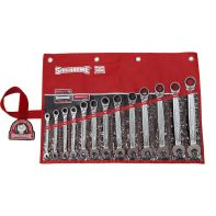Sidchrome 467 Geared Spanner Set A/F 13pc Wallet