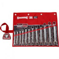 Sidchrome 467 Geared Spanner Set Metric 12pc Wallet