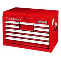 Sidchrome 8 Drawer Tool Chest Red