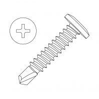 Self Drilling Screw (SDS) Series 500 CL 4 Wafer Head 12-24 x 32mm