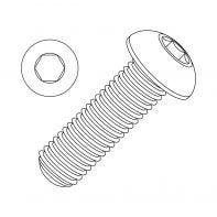 M10 Socket Head Button Screw CL 12.9 Plain
