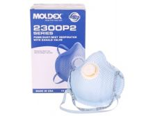 Respirator P2 Particulate Moldex 2300N Series with Valve Med/Lge (Box 10)